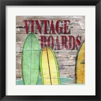 Framed Vintage Boards III