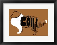 Framed Collie Word 2