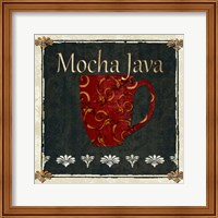 Framed Mocha Java