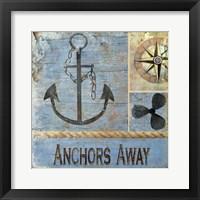 Framed Anchors Away