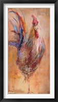 Framed French Roosters