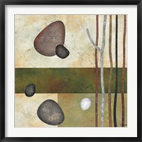 Framed Sticks and Stones VI