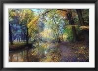 Framed Autumn Walk