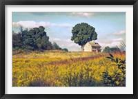 Framed House on a Hill