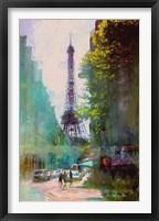 Framed Paris Street