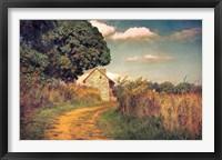 Framed Webb Farm House