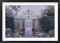 Framed Elegant Garden