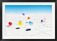 Framed Balloons Three, Salar de Uyuni, Bolivia