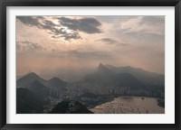 Framed Sugar Loaf, Rio de Janeiro, Brazil