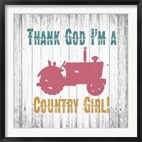 Framed Country Girl