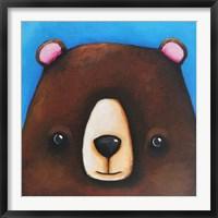 Framed Black Bear