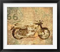 Framed American Rider