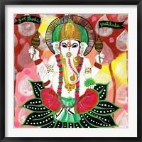 Framed Ganesh of Gratitude