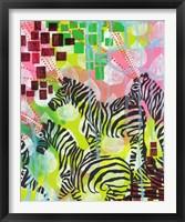 Framed Mind Reading Zebras