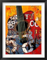 Framed '58 Guitar