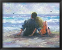 Framed BeachLovers I