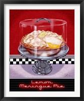 Framed Lemon Meringue Pie