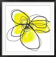 Framed Yellow Petals Two