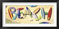 Framed Beach in Boards