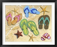 Framed Flip Flop Family