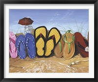 Framed Flip Flop Fence