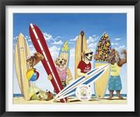Framed K-9 Surf Club