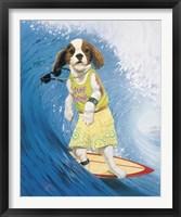 Framed Surf Dawg