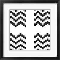 Framed Fight or Flight Perfect Tile