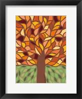 Framed Tree of Life - Orange