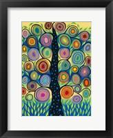 Framed Pastel Tree of Life