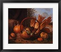 Framed Autumn Cornucopia