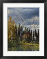Framed Orvis Pond