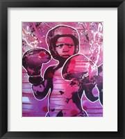 Framed Boxer Kid 1