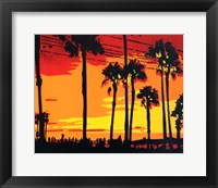 Framed California Sunrise