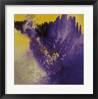 Framed Purple Rain