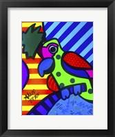 Framed Tropical Parrot