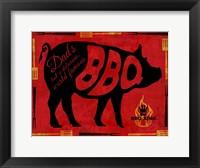 Framed BBQ 1