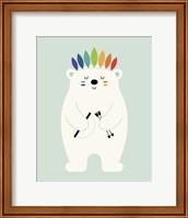 Framed Be Brave Polar