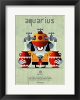 Framed Aquarius