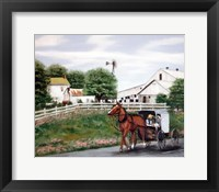 Framed Amish Country 1