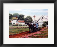 Framed Amish Country 2