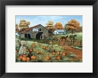 Framed Cooksville Barn