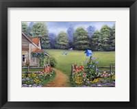 Framed Bluebird House