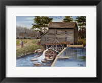Framed Howard's Creek Mill 1930s