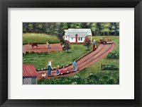 Framed Hildebran Farm