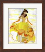 Framed Belle