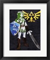 Framed Zelda2
