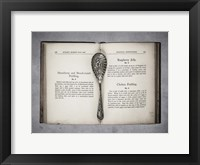 Framed Book & Spoon 1