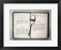 Framed Book & Spoon 2