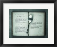 Framed Book & Spoon 3